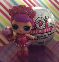 ✨ LOL Surprise Dolls Bling Series Sugar Queen Rare New Still In Ball Ornament ✨