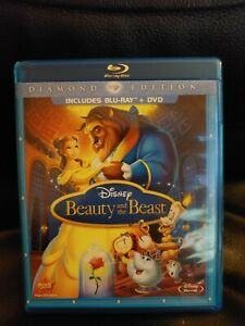 Disney's Beauty and the Beast (1991) Diamond Edition Blu-ray & DVD