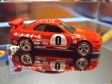 Hot Wheels Special Custom Night Burnerz NISSAN SKYLINE GT-R R34 with Real Riders