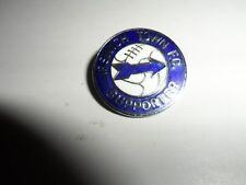 RARE OLD FOOTBALL BADGE IPSWICH TOWN  FC SUPPORTER REEVES CHROME  BROOCH PIN