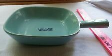 Cronin Blue Tulip oven bake made in the USA pottery
