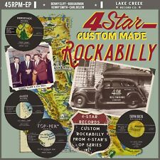 ROCKABILLY EP: 4 STAR CUSTOM MADE ROCKABILLY - Benny Cliff/Bob Garmon + 2 KILLER