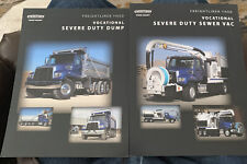 Lot/2 Freightliner Truck 2-Sided Sheets