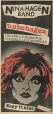 15/3/80PN16 ADVERT: NINA HAGEN BAND UNBEHAGEN & AFRICAN REGGAE 15X7
