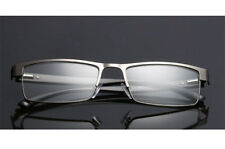 Reading Glasses Readers Rectangular Business Metal +1.5 2.0 2.5 3.0 3.5 4.0