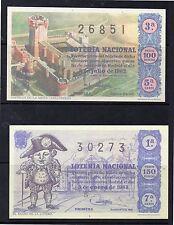 España Loteria Nacional edición facsímil año 1962-63 (DI-289)