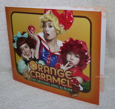 Orange Caramel The Second Mini Album Promo Greeting Card (happy new year card)
