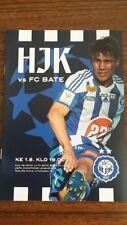 HJK (Finlandia) - BATE Borisov Liga de Campeones 1.8.2018