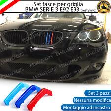 BMW SERIE 5 E60 E61 COVER PER GRIGLIA IN STILE M SPORT AD INCASTRO NO ADESIVO