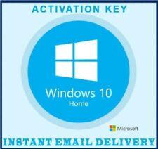 Microsoft Windows 10 Home Lizenz Product Key 32/64 Bit Vollversion✔️