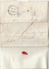 GB : 1841 NORWICH TOO LATE on NORTHERN COAL MINING CO entire