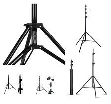 Studio Light Stand Heavy Duty Spring 2-4m Adjustable Professional Photo Tripod
