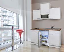 Cucina Singola Mini Cucinino Incasso Blocco 150 CM Bianco respekta