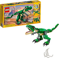 LEGO Creator Mighty Dinosaurs Build A Create Pterodactyl, Triceratops& T Rex 174