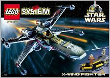 LEGO 7140 - Star Wars - X-wing Fighter - 1999 - NO BOX