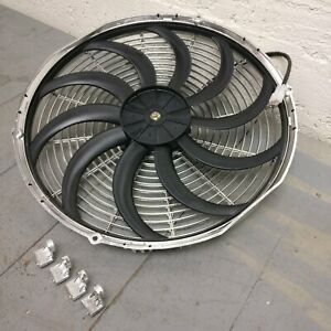 1938 Buick Limited Series 90 16 Inch Chrome Radiator Fan Chrome new cooling
