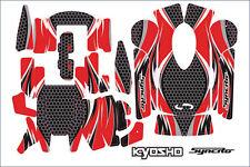 Kyosho #36271R Aufklebersatz für Fernsteuerung KT-200 KT-201 Neu