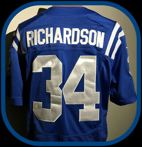 INDIANAPOLIS COLTS TRENT RICHARDSON SEWN NIKE ON FIELD REPLICA JERSEY ADULT 40