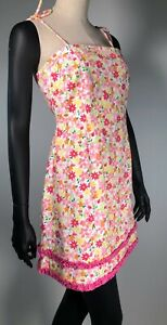 Lilly Pulitzer Floral Summer Sundress 1990's
