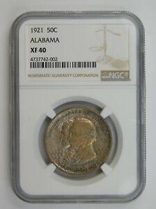 1921 Alabama Centennial Commemorative Half Dollar NGC Graded XF 40 (149)