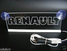 24v LED Interior Cabin Light Plate for RENAULT Truck Neon Illuminate Table Sign