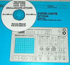 Tek 2445b 2455b 2465b 2467b Options Service Manual