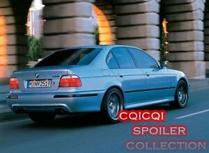 Painted Trunk Lip Spoiler For BMW e36 3-series e39 5-series 4D Sedan All Color ◎