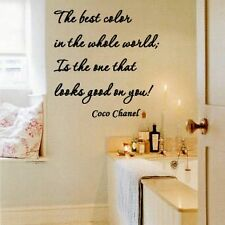 Wall Decal Coco Chanel The Best Color in The Whole World Is The One That Looks