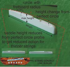 More details for compensated bone saddle. length,width,height, radius and action change. ps023