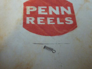 TWO PENN PARTS 14-500 COILED SPRINGS NOS FOR PENN 500 REEL. (no shipping charge)