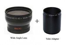 Wide Lens + Tube for Panasonic DMC-FZ40 DMC-FZ40K DMC-FZ45 DMC-FZ45EF DMC-FZ45K