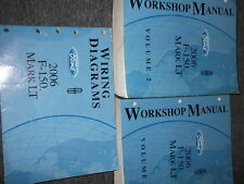 2006 Ford F-150 F150 & Lincoln Mark LT TRUCK Shop Repair Service Manual SET EWD