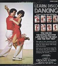 LEARN DISCO DANCING By Jeff & Jack Shelley Vinyl 33 LP Record Album VG+ Stereo