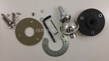 Super Heavy Duty Chrome Plated Pot Belly Spring for CB  Ham Radio antenna mount