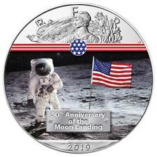 50 Jahre Mondlandung First Man on the Moon American Silber Eagle 2019 1 oz 999