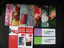 12 Buchzeichen Blumen Gartenschau Lars Keplar Vanessa Diffenbaugh Lucinda Riley