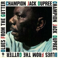 Champion Jack Dupree - Blues From The Gutter + 2 Bonus Tracks [New Vinyl] Bonus