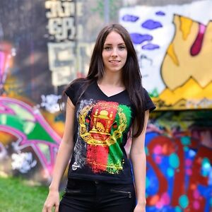 AUSVERKAUF Zoonamo AFGHANISTAN Damen Classic Shirt  Girls Afghan Länder T-Shirt