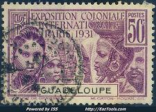 GUADELOUPE N° 124 AVEC OBLITERATION
