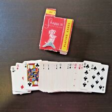 Shaggy JR Dog Mini Deck Playing Cards Adorable Mutt COMPLETE 52 in Box Vintage