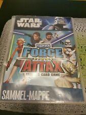 Star Wars Force Attax Serie 1 Sammelmappe vollständig keine Limitierten Auflagen