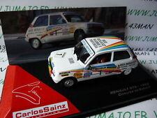 voiture 1/43 IXO altaya Rallye C.SAINZ : RENAULT 5 TS 1982 Estoril