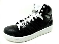 Adidas M ATTITUDE LOGO HEART W Mens Shoes Basketball Black Leather G61014 Rare