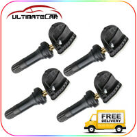 Set of 4 TPMS Tire Pressure Monitoring Sensor For Chevy Tahoe Cadillac CTS SRX