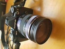 Olympus OM-D E-M5 Mark II 16.1MP Digital SLR Camera Black Panasonic 12-35mm f2.8