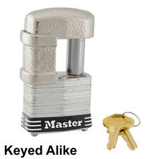 Master Lock - Trailer Coupler Latch Lock and Multi Purpose Padlock # 37KA