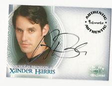 Nicholas Brendon as Xander Harris BUFFY Men of Sunnydale Autograph Card Auto #A1
