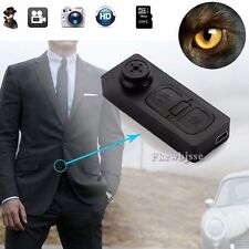Mini DV Button Camera Hidden Secret DVR Camcorder Detect Cam Video Sound Record