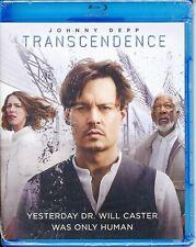 Transcendence: (Blu-ray and DVD, Johnny Depp, Widescreen, Warner Bros.)