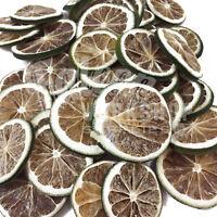 DRIED FRUIT GREEN LEMON SLICES - CHRISTMAS CRAFT WREATH FLORIST DECORATION